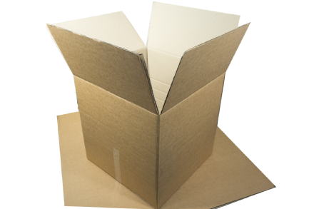 Double Walled Brown Cardboard Boxes